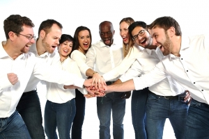 Humanas equipo intercultural