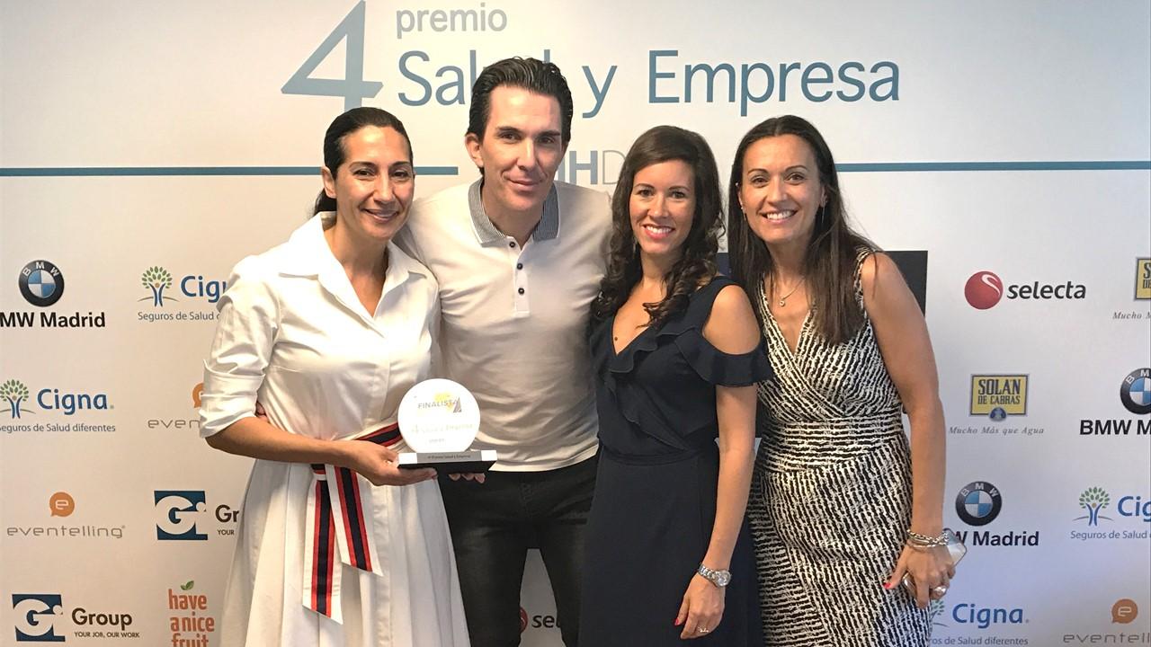 Premio Salud y Empresa RRHH Digital