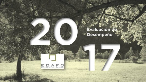 Evaluación de desempeño EDAFO