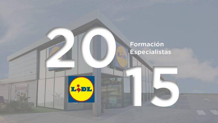 Formación Lidl supermercados