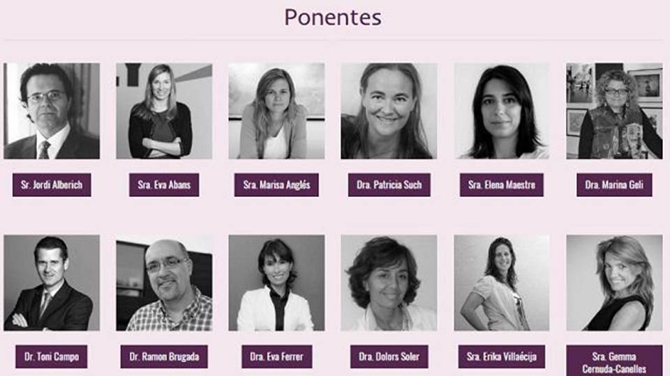 Ponentes women 360 congress 2016