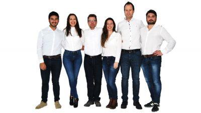 Humanas y equipo de éxito
