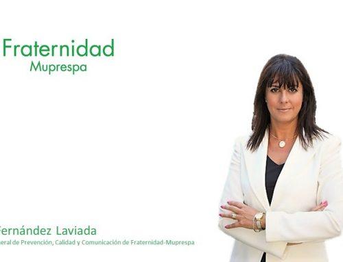 Natalia Fernández Laviada -Subdirectora general de Prevención, Calidad y Comunicación de Fraternidad-Muprespa