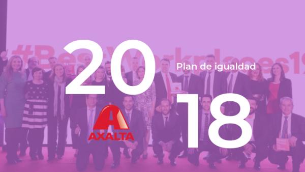caso de éxito de axalta 2018 plan de igualdad