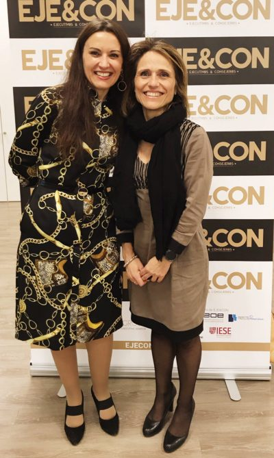 begoña sanchez y monica seara en premios ejecon