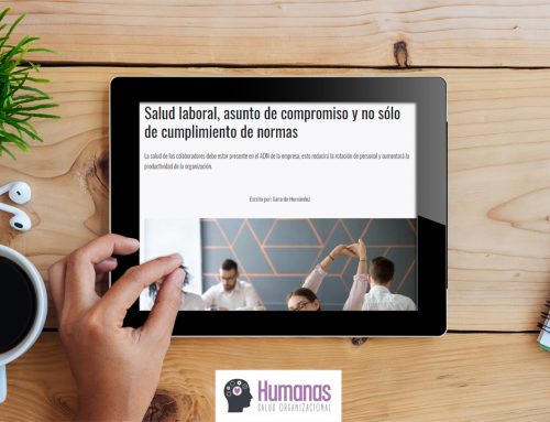 Factor Capital Humano: Salud laboral, asunto de compromiso y no solo de cumplimiento de normas
