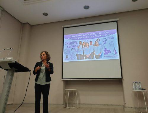 Humanas en la jornada de Comunidad AEC – RSE sobre sostenibilidad y digitalización